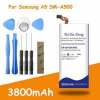 Il trasporto libero 3800mAh EB-BA500ABE Batteria per Samsung Galaxy A5 2015 A5000 A5009 SM-A500F A500FA500H A500K SM-A500FU SM-A500