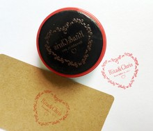 Wedding Gifts Wedding Stamp with Your Initials&Date Wedding Invitation Customized photosensitive seal stamp(China)