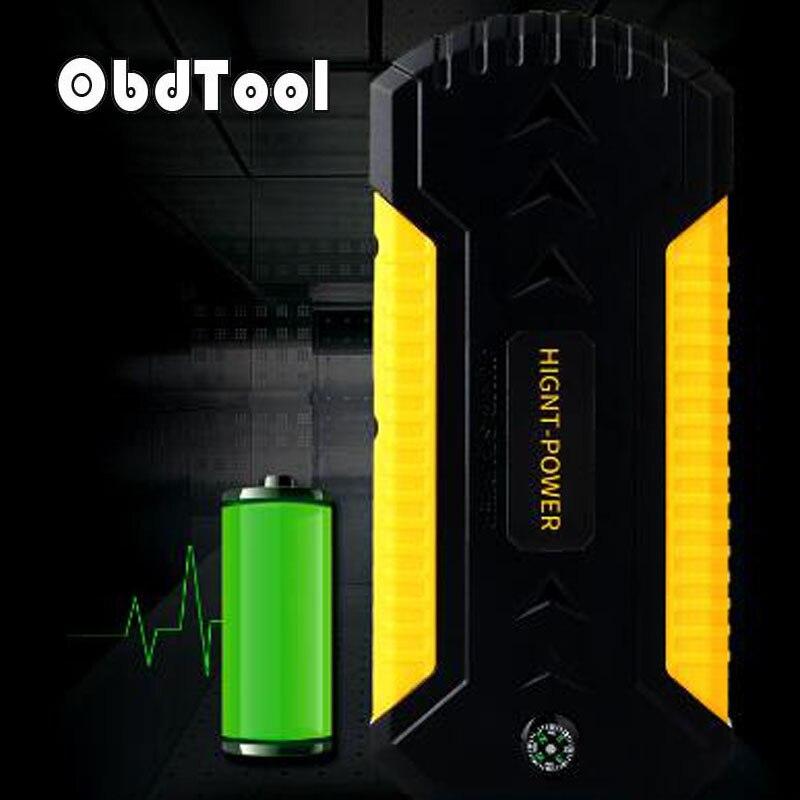 цена на ObdTooL 88000mAh 12V Multifunction Car Jump Starter Power Bank Emergency Charger Battery for Diesel and Petrol Car