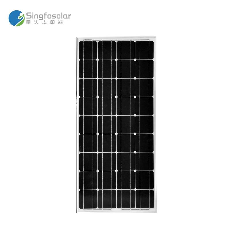 New Solar Panel 100W Cargador Solar Monocrystalline Solar Cell Solar 12v Fotovoltaica Caravan Camp Boat Camp Caravan PVM100W the vintage caravan