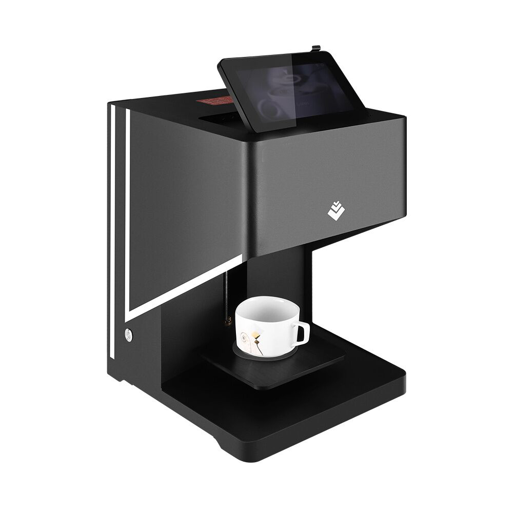 Hot saling black technology flowers ten seconds Coffee 3D Printer with food grade certification