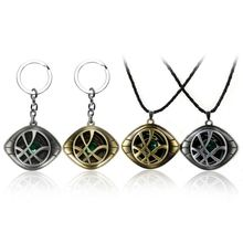 Doctor Strange Necklace Crystal Eye of Agamotto Pendant The Avengers Infinity War Fashion Necklaces Gift Jewelry Accessories