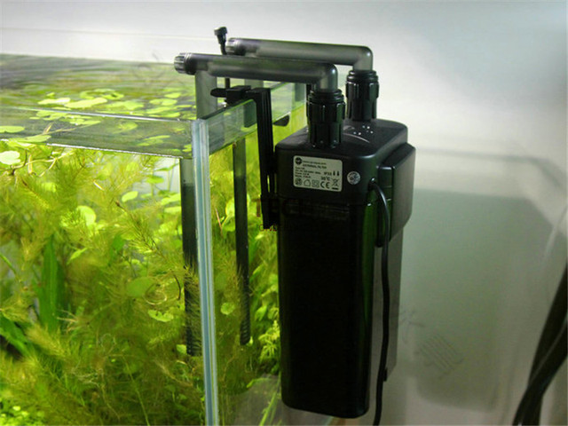 5 Stage 6.9W 500L/H External Fish Canister Filter Power Pump For Aquarium Pond Tank UP D-EX-120 Free Shipping