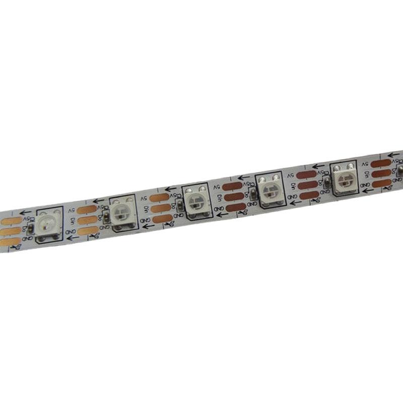 5mX Yüksək keyfiyyətli WS2812B rəqəmsal ünvanlı 5050 RGB LED - LED işıqlandırma - Fotoqrafiya 4