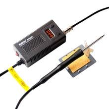 Электрический паяльник BAKON 950D, портативная цифровая паяльная станция с регулируемой температурой, сварочные инструменты, паяльники T13, 75 Вт