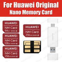 90MB/s Original Huawei NM Card Nano 64GB/128GB/256GB Apply to Huawei P30 Pro Mate20 Pro Mate20 X 5G With USB3.1 Card Reader