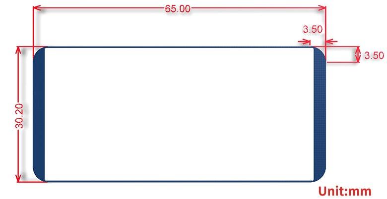 Image 5 - 2,13 дюймов E Ink дисплей шляпа 212x104 E бумажный модуль для Raspberry Pi 2B/3B/Zero W красный черный белый трехцветный SPI интерфейс-in Доски для показов from Компьютер и офис