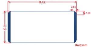 Image 5 - 2.13inch E Ink Display HAT 212x104 E paper Module for Raspberry Pi 2B/3B/Zero/Zero W Red Black White Three color SPI Interface