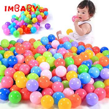 100 200pcs 5 5cm piłki piłki basenowe miękkie tworzywo sztuczne piłka oceaniczna dla kojec kolorowe miękkie stres powietrza piłki do żonglerki sensoryczna zabawka dla dziecka tanie i dobre opinie 5-7 lat 13-24 miesięcy 2-4 lat 0-12 miesięcy Z tworzywa sztucznego S180205 Piłka doły Unisex NO EATING Ocean ball Eco-Friendly