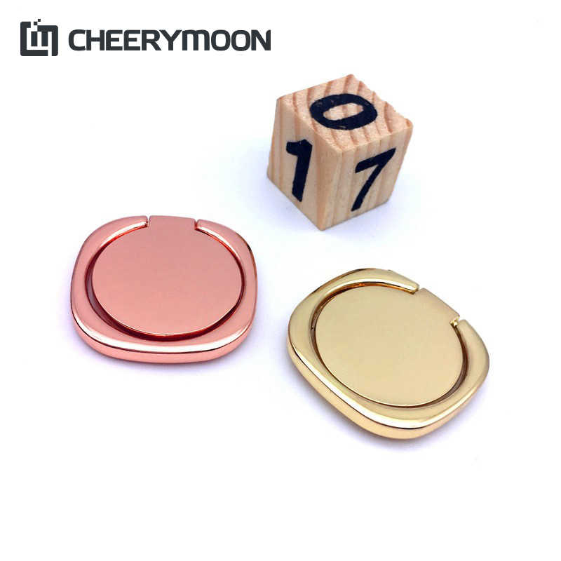 CHEERYMOON Square Circular Finger Ring Mobile Phone IRE Smartphone Holder For Xiaomi GPS Car Mount Stand AE Saver SHIP+Gift