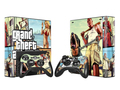 ПВХ Наклейку Кожи Протектор для Microsoft Xbox 360 Е и 2 Контроллера Скины Наклейки для XBOX360 E GTA-V Игры Аксессуары