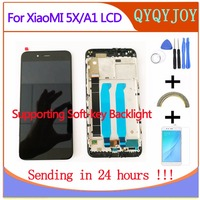 Q&Y Qyjoy For Xiaomi Mi 5X /Mi A1 Lcd Display And Touch Screen Assembly Repair Parts Replacement Mobile Phone Accessory+Tools