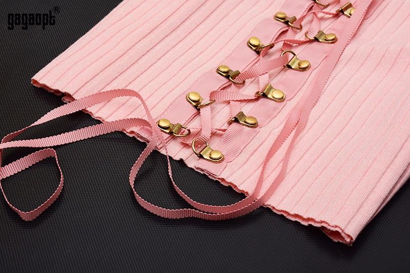 HTB1zY1xOpXXXXcGXpXXq6xXFXXX8 - Sexy Black Crop Top Lace Up Tee shirt Metal Ropes Women