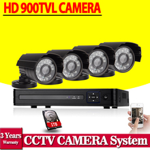 HDMI 1080p 900TVL cctv camera home video Surveillance dvr system AHD-NH dvr NVR Recorder Mobile Phone view 8ch cctv dvr kit
