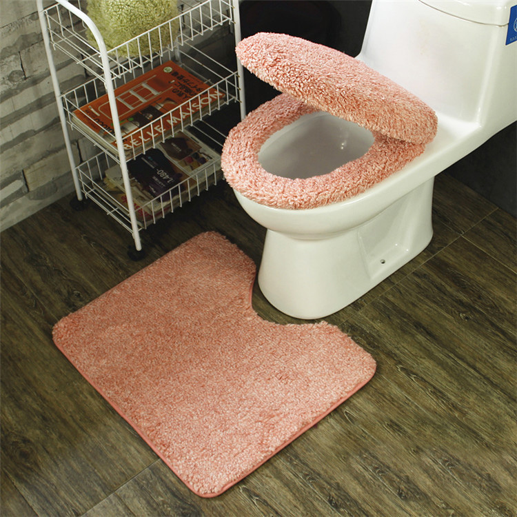 toilet seat lid covers. Winter Bathroom Seat Warmer Coral Fleece Carpet Toilet Cover Soft Case  Closestool Lid 3pcs Set Cushion In Covers From