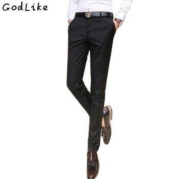 8f1084b0552307 2017 nuevos pantalones de vestir de moda para hombre para boda pantalones  formales hombres traje de hombre Slim Fit pantalones de negocios  elasticidad ...