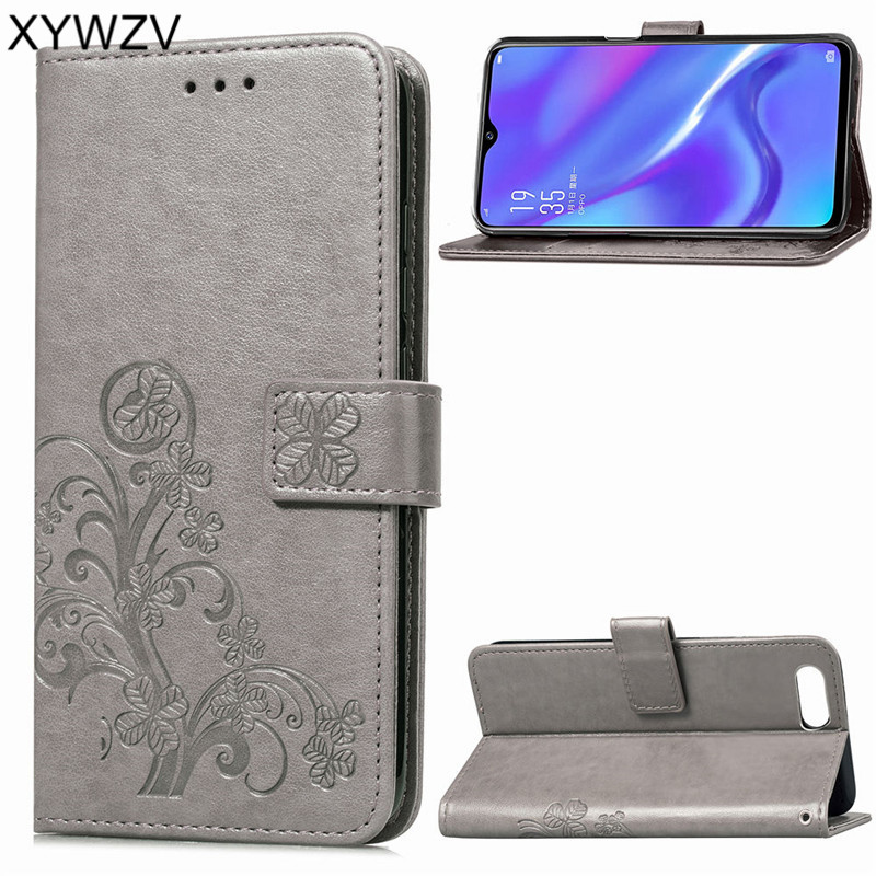 OPPO RX17 Neo Case Luxury PU Cover Flip Wallet Phone Case For OPPO RX17 Neo Back Cover For OPPO K1 Kickstand Card Holder Fundas in Flip Cases from Cellphones Telecommunications