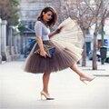 Nuevo 2016 Faldas de Tul falda de Diseño Partido de La Manera Mujeres C728