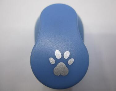 Free Shipping Lovely 8-10mm Cat Paw Shape Craft Punch Paper Punch Hole Punches Diy Toy,Scrapbook Handmade Puncher