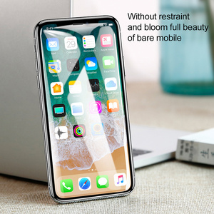 Image 5 - Baseus Screen Protector Tempered Glass For iPhone X 10 4D Surface Full Cover Protection Glass Film For iPhoneX Protective Glass