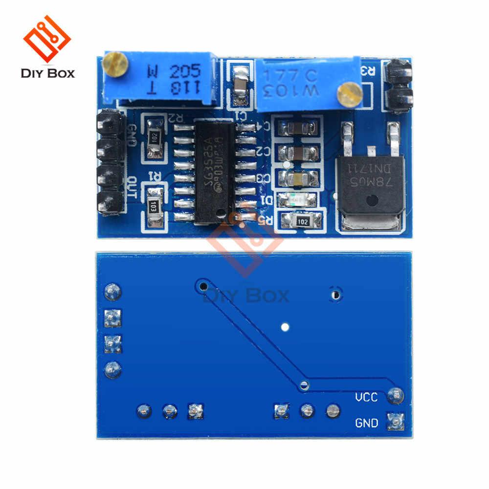 DC 5V 12V SG3525 PWM Controller Module Adjustable Frequency 100HZ