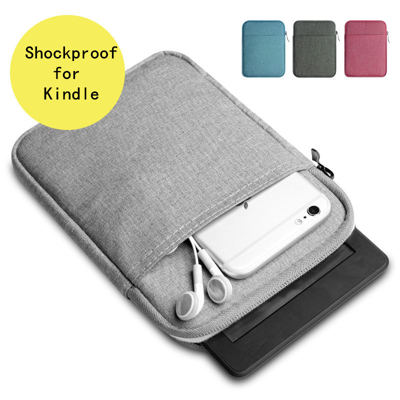 Shockproof Tablet Bag Sleeve Case for ALL new Kindle Paperwhite 1/2/3 6 Case Voyage Pocketbook 622 623 e-reader Portable Cover new cranes design kindle paperwhite case 3 2 1 6 inch folio pu leather tablet cover for amazon voyage 7th 8th kindle case