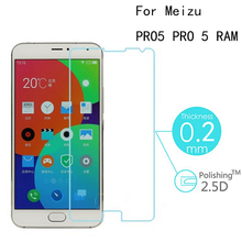 9H Hd Tempered Glass For Meizu PRO5 PRO 5 RAM Premium Display Protector zero.2mm 2.5D Toughened Protecting Movie With Clear Equipment