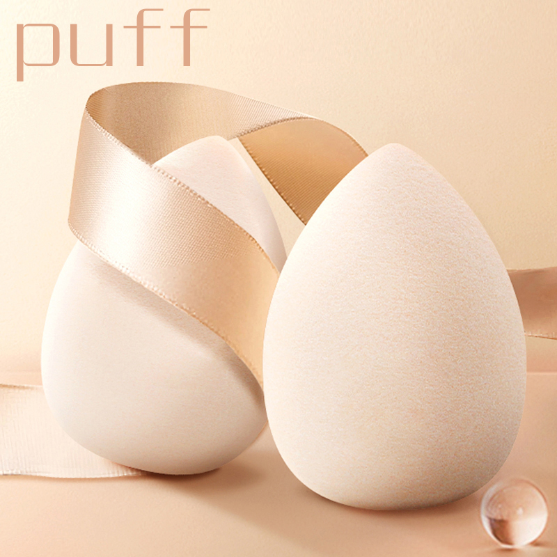 24 Colors Cosmetic Puff  Reusable Cotton Pads Blending Makeup Sponge Wet Powder Gourd Water Drop  Puff Tools CW34