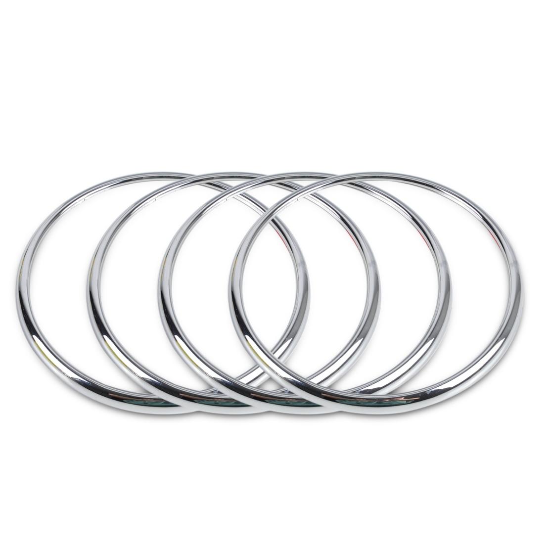 CITALL 4Pcs Car Chrome Audio Speaker Stereo Decorative Ring Cover Loop For Chevrolet Holden Cruze 2009 2010 2011 2012 2013 2014