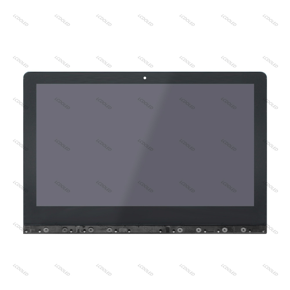 13.3 For Lenovo Yoga 3 Pro 1370 80HE Full LCD Screen Display Touchscreen Glass Digitizer Assembly + Frame 3200x1800 40 pins IPS