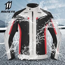 HEROBIKER Spring Autumn Motorcycle Jacket Men Waterproof Windproof Moto Jacket Riding Racing Motorbike Clothing Moto Protection