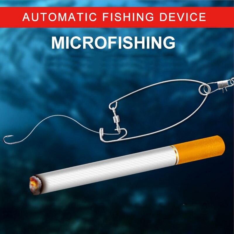 מיניאטורי חדש גרסה, גרסה מיניאטורית של הוק דייג אוטומטי, חפץ וו, אספקת ציוד דיג