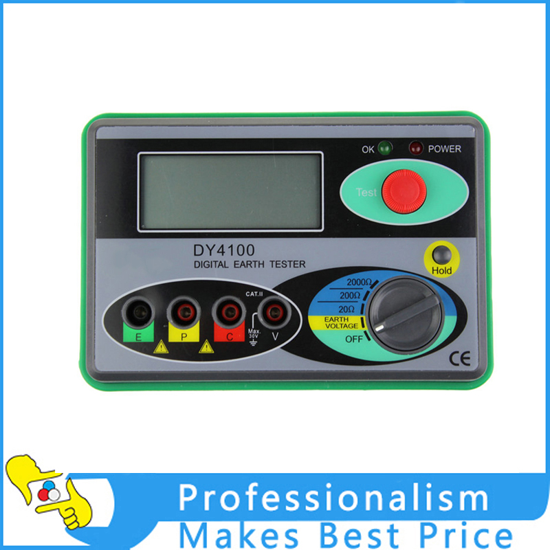 DY4100 Digital Earth Ground Resistance Tester Multimeter Resistance Measurer ботинки гравитационные dy bt 166