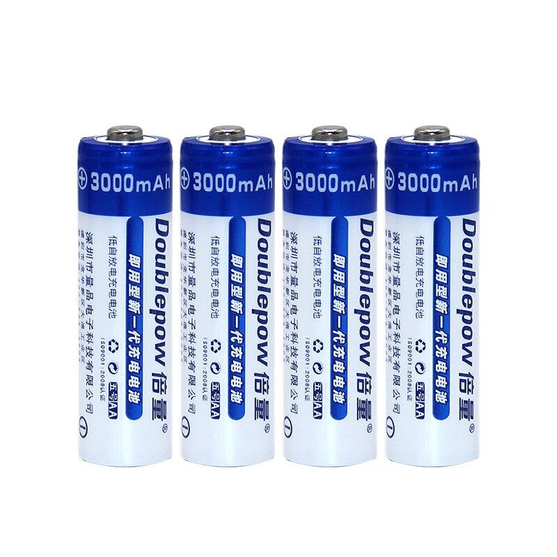 Pilhas AA NI-MH 3000 mAh 1.2 V 4 Baterias Recarregáveis pcsAA 2A Bateria Baterias ou o Controlador Remoto/Barbeador Elétrico/Radio/Brinquedo