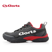 Clorts Men's Running Shoes Outdoor Breathable Sport Shoes Men Light Trail Running Sneakers For Men Cushioning Zapatos De Hombre