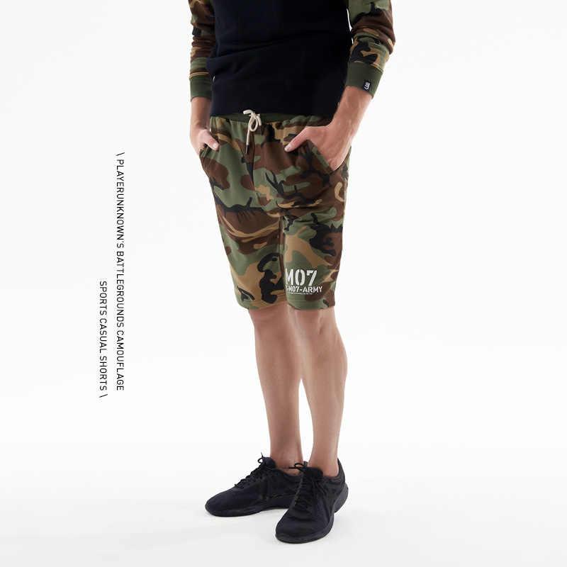 TEE7 Männer Spiel Dampf Board Shorts Männlichen Military Camouflage Shorts Männer Mode Hip Hop Hosen Sommer Baumwolle Marke Shorts Für männer