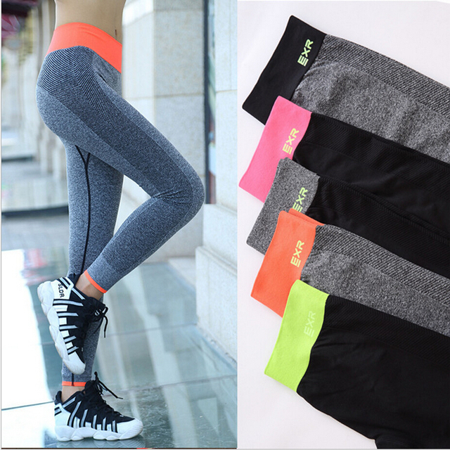 cc5228b706 Women quick drying High elasticity fitness Yoga trousers Outdoor  professional Running pants gym sport legging pants