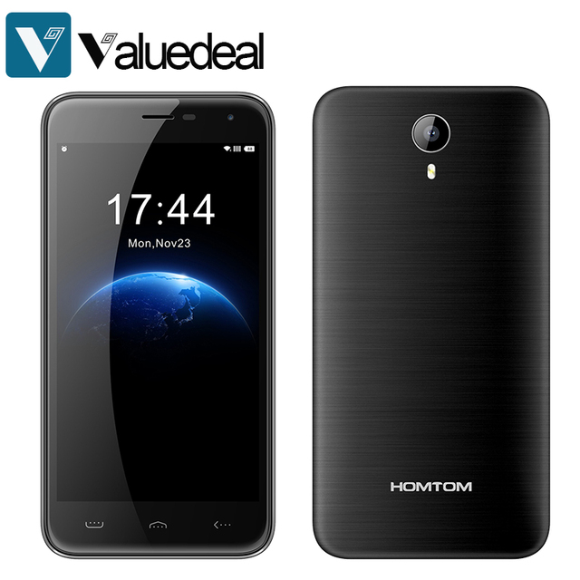 Original Homtom HT3 5.0'' HD 720P Android 5.1 MT6580A Quad Core 1GB RAM 8GB ROM 5MP Dual SIM 3000mAh Smartphone