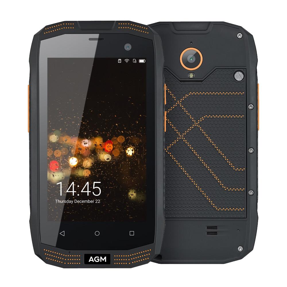 original AGM A2 IP68 Waterproof Shockproof 4G OTG NFC Smartphone Qualcomm MSM8909 Quad Core Cell phone