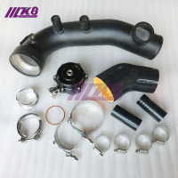 charge pipe N54 135i 335i 3.0T charge pipe 135i 335i 335xi 335is E81 E82 E87 E88 E90 E91 E92 E93 charge pipe kit + BOV QR50MM