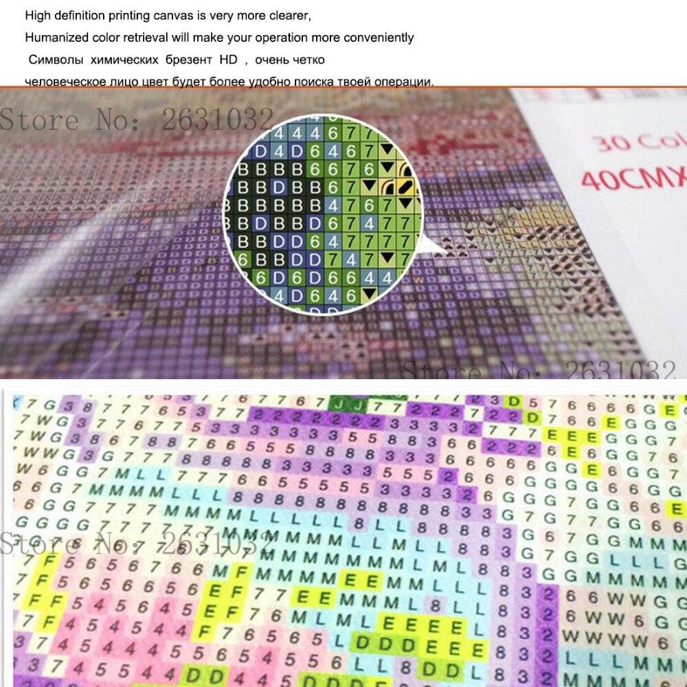 UzeQu 5D DIY Diamond Embroidery Full Square Diamond Painting Cross - Արվեստ, արհեստ և կարի - Լուսանկար 5