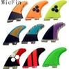 FCS II Fins Blue Honeycomb Carbon Fin Surf Fins FCS2 Surfboard Fin Hot Sale