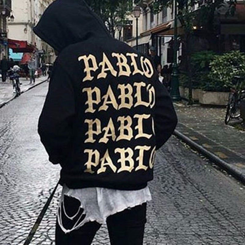 La-vida-De-Pablo-Hombres-Sudadera-Con-Capucha-de-Hip-Hop-Kanye-West-Yeezys-Tire-parís