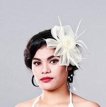 Очаровательный несколько цвет кринолайн чародей головные уборы партия головной убор дамских волос accessoiry костюм для всех сезонов MD16016