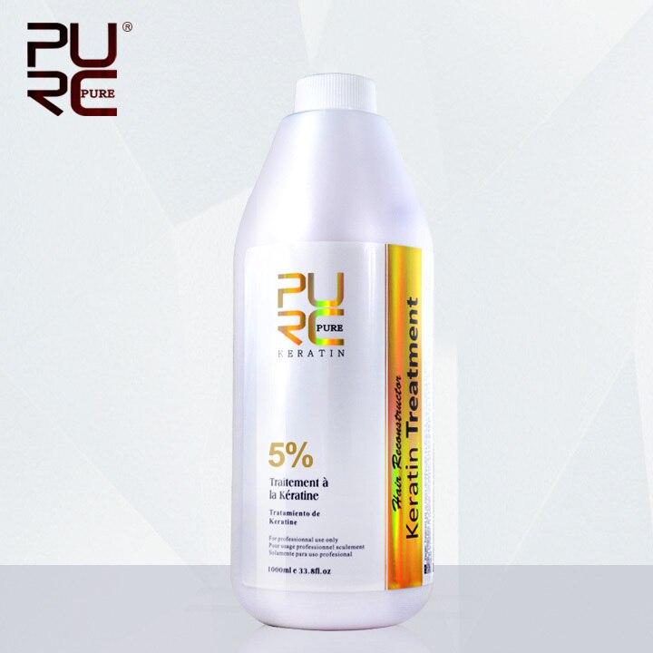 Raddrizzare i capelli brzailian keratin treatment 1000 ml 5% di formalina vendita calda cheratina raddrizzare per trasporto libero dei capelli