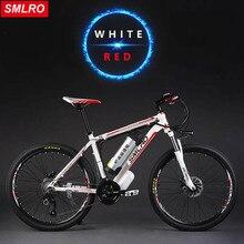 Smlro 26 дюймов Электрический горный велосипед Алюминиевый сплав Ebike 27 скорость Электрический велосипед 48 В литиевая батарея 500 Вт двигателя гибридных велосипедов