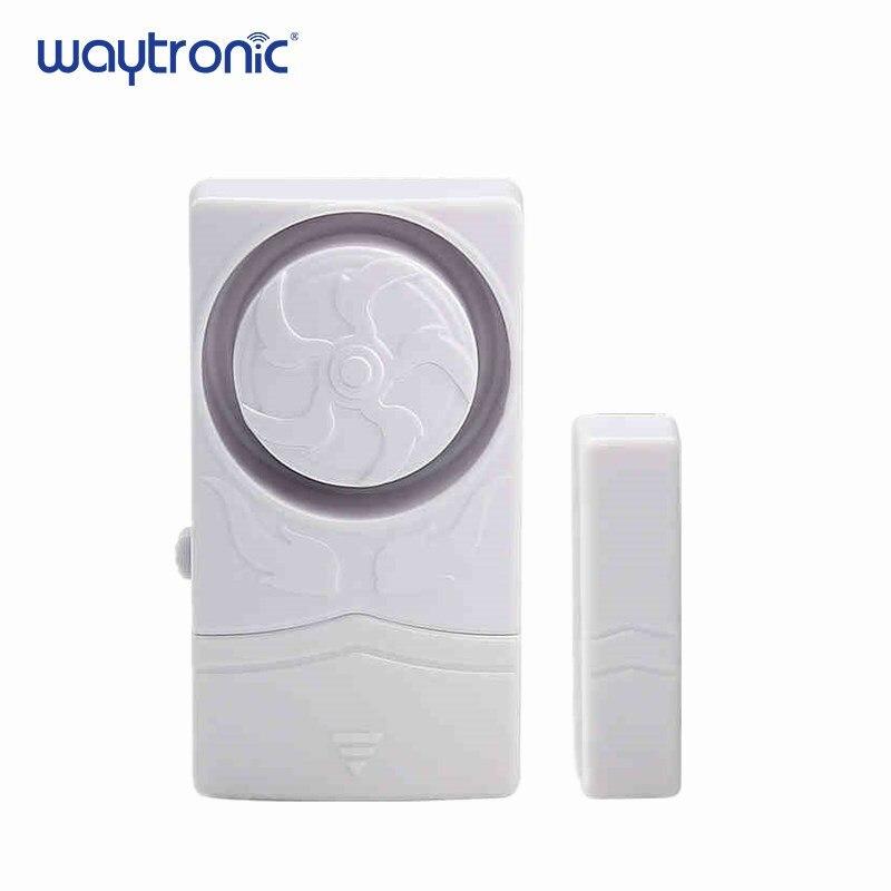 Porta sem fio sensor magnético alarme porta e janela aberto fechar lembrete kit para supermercado loja de conveniência geladeira