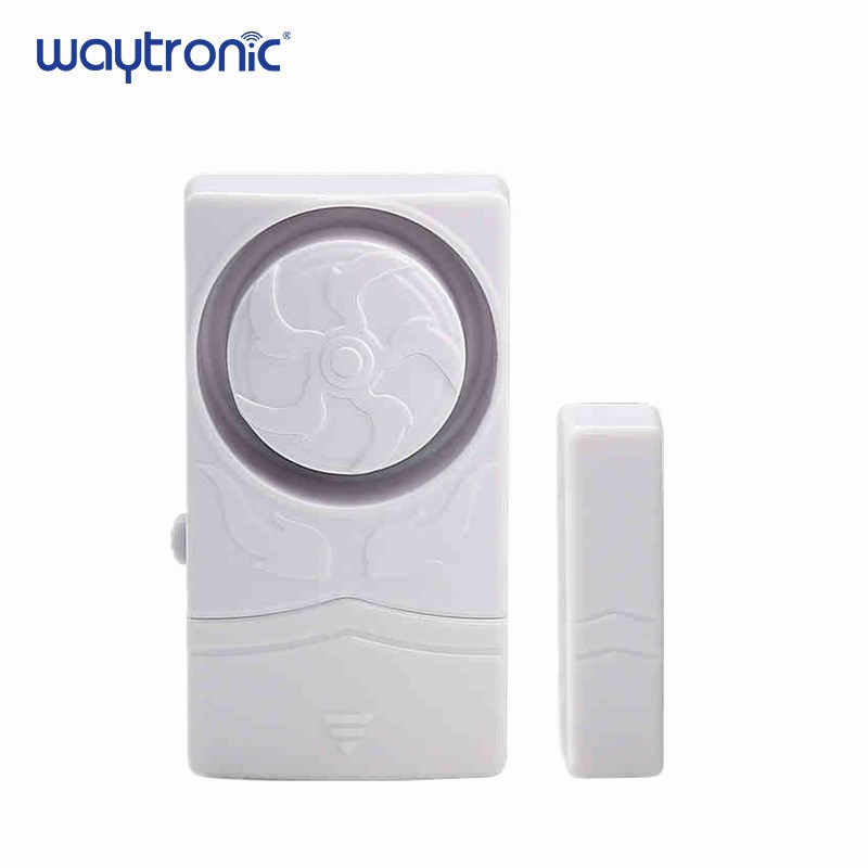 Image 1 - Wireless Door Magnetic Sensor Alarm Door and Window Open Close Reminder Alarm Kit for Supermarket Convenience Store Refrigerator-in Sensor & Detector from Security & Protection
