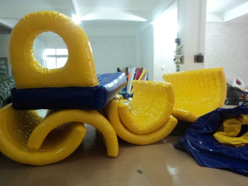 Inflatable Water Seesaw river treasure water sport toys inflatable water seesaw