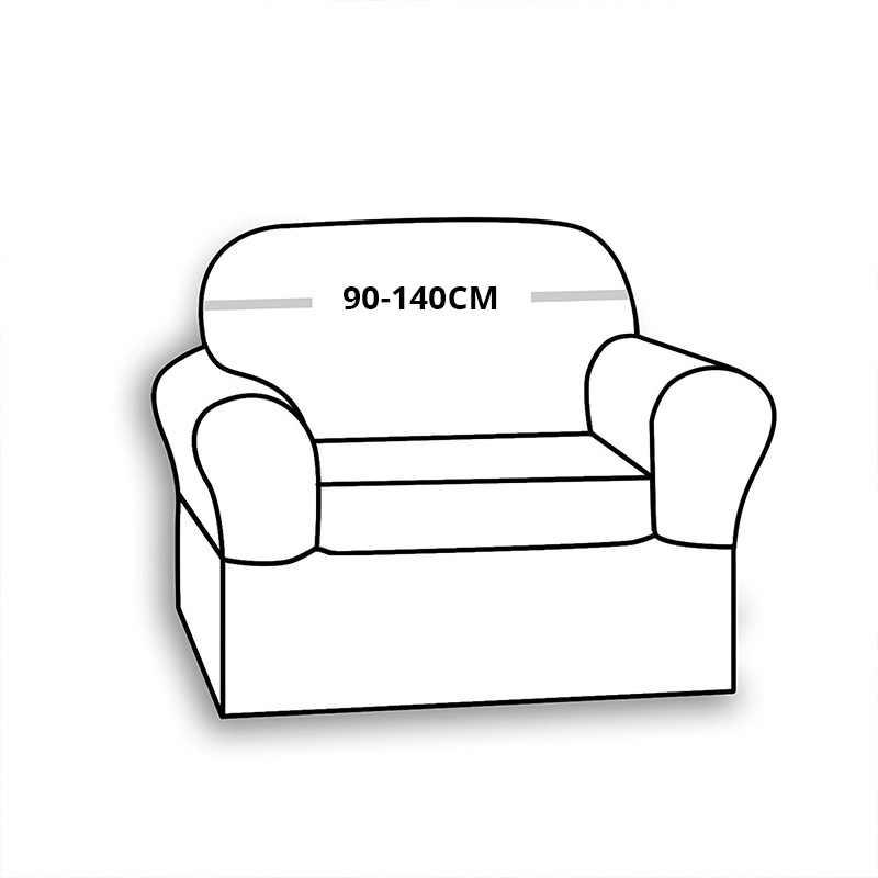 Coqueena™ чехлы на 1-Х диван кресла  универсальный натяжной
